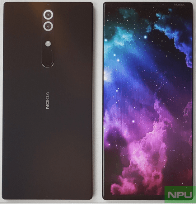 Un rendu supposé du Nokia 9