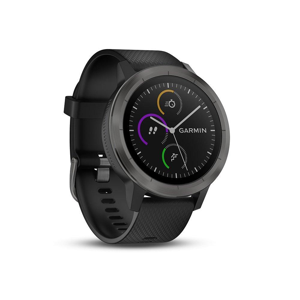 a86e9f674af4d0 Cette montre intègre un GPS et un cardiofréquencemètre et propose diverses  fonctionnalités comme la réception de notifications, la gestion de la  musique, ...