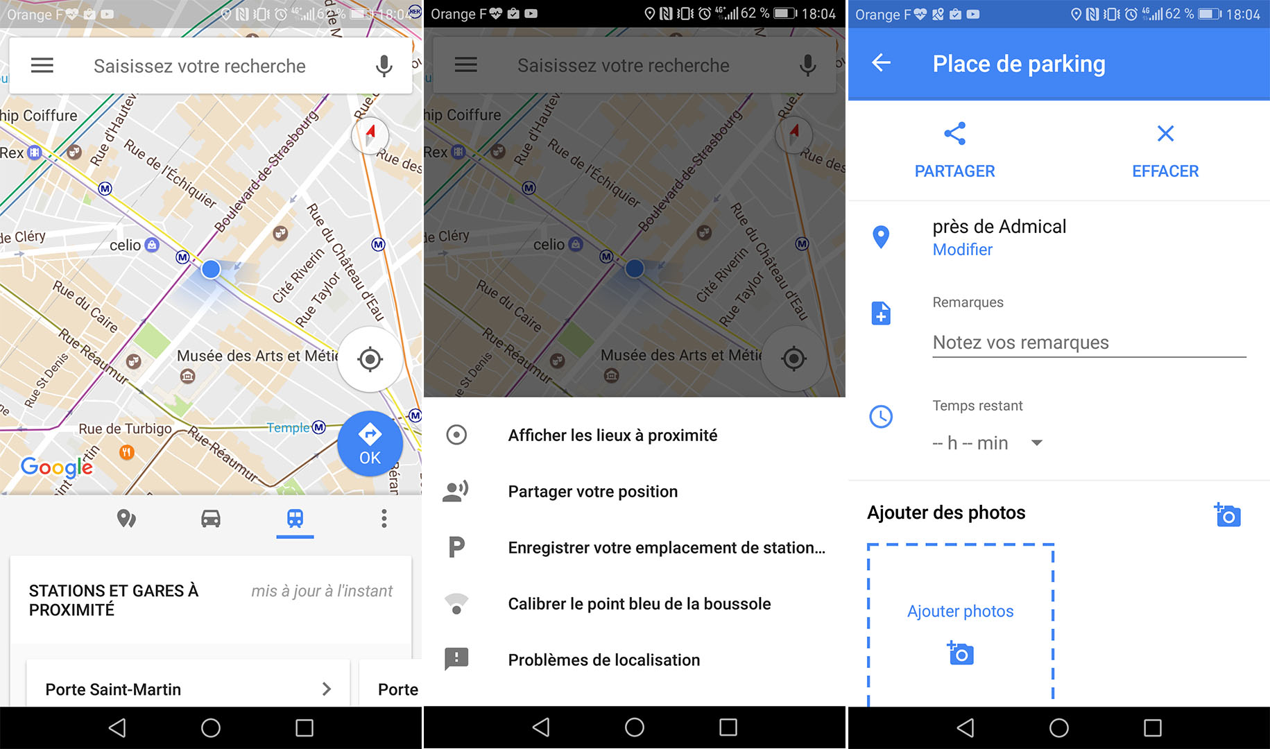 Google Maps Lance Officiellement La M 233 Morisation De Place