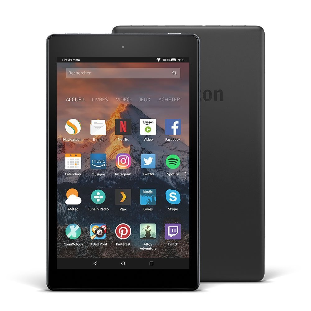 amazon lance la fire hd 8 2017 quelles sont ses concurrentes frandroid. Black Bedroom Furniture Sets. Home Design Ideas