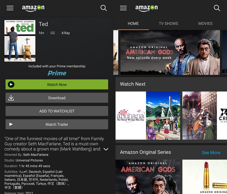 Amazon Prime Cideo