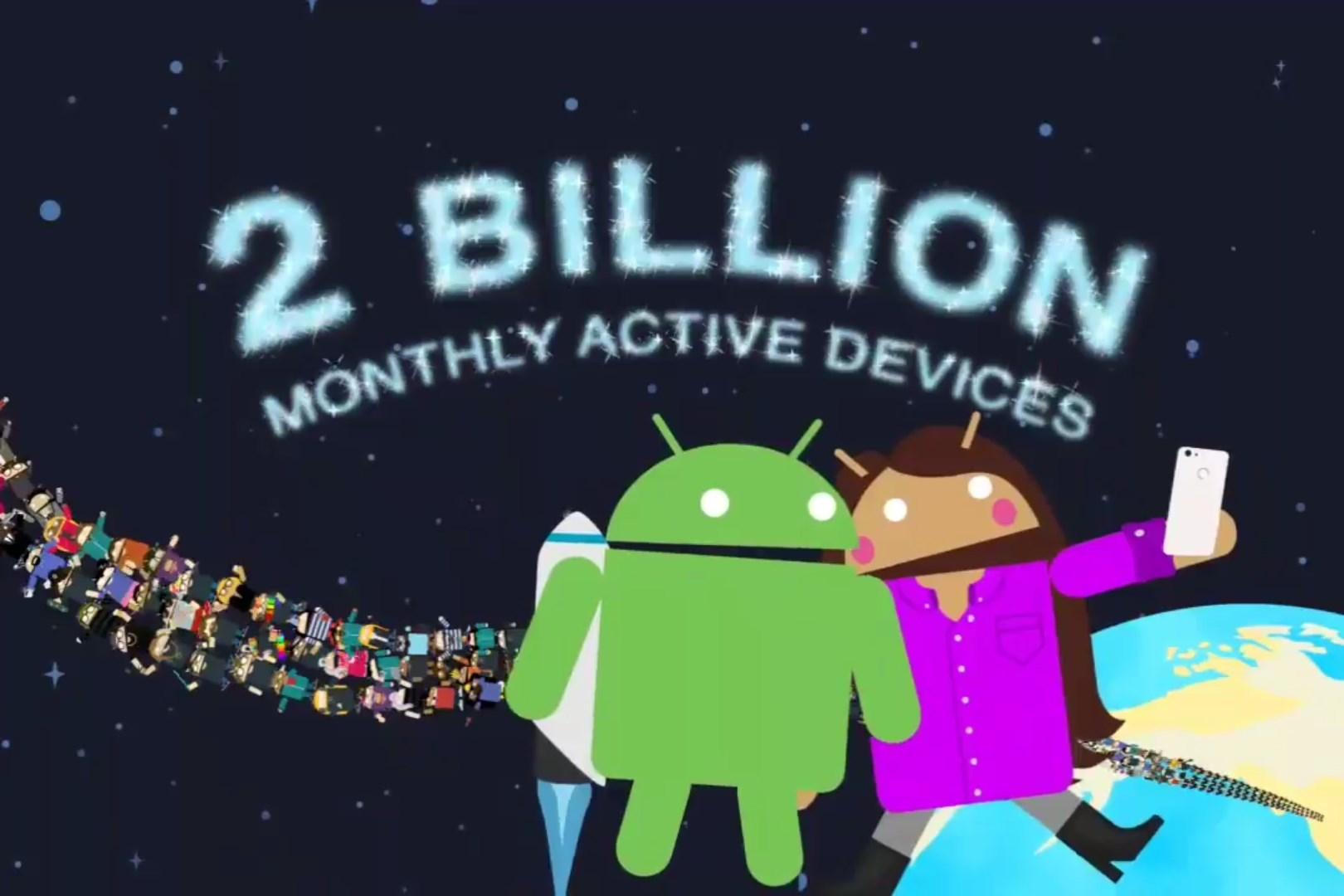 Plus De Deux Milliards D Appareils Tournent Sous Android Frandroid