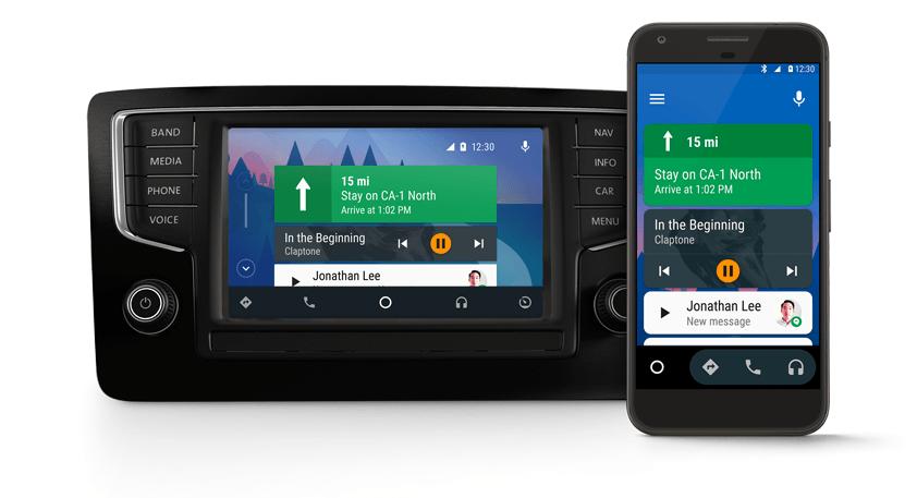 android et google assistant propulseront aussi votre voiture frandroid. Black Bedroom Furniture Sets. Home Design Ideas