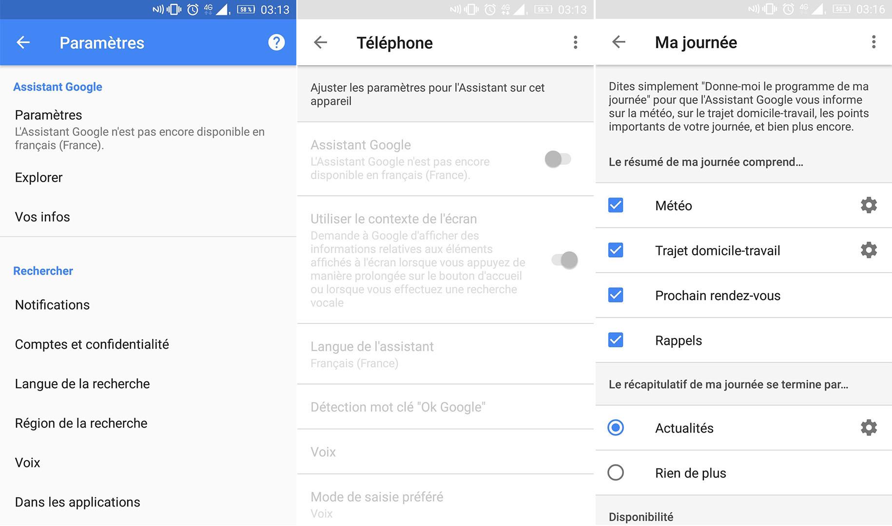Google Assistant prépare son arrivée sur Android en France ...