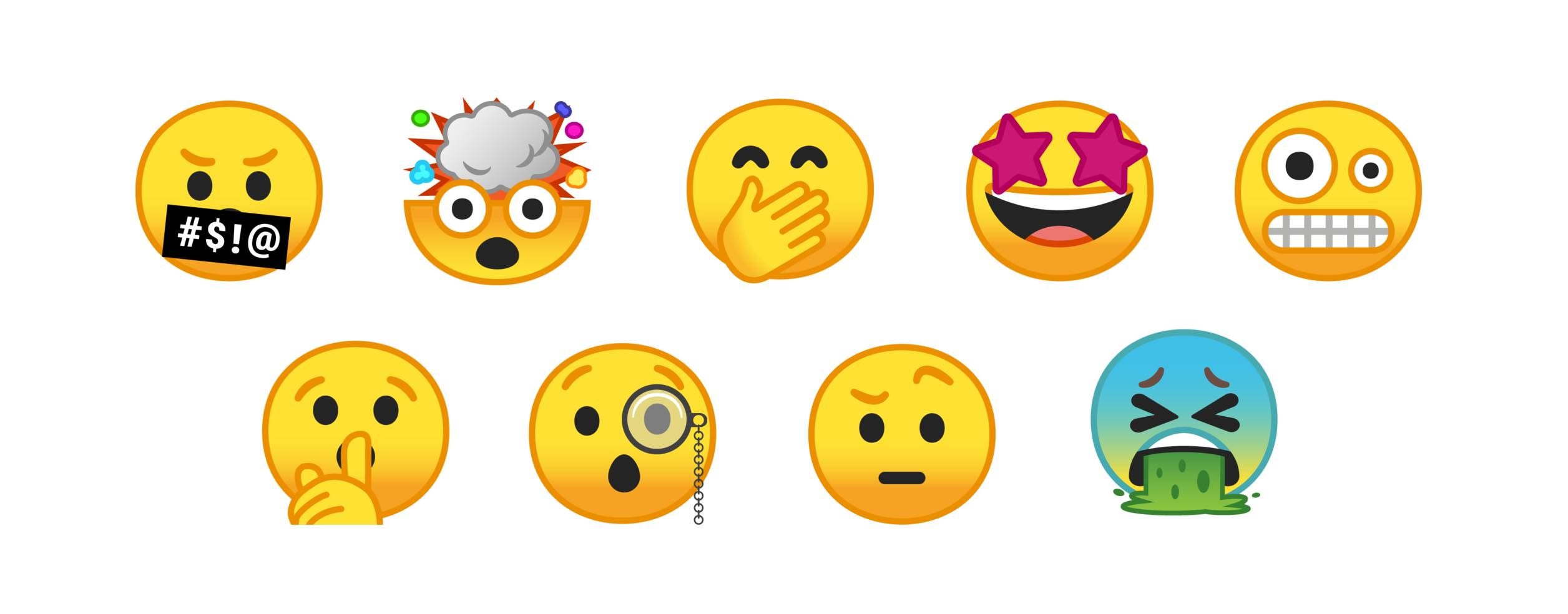 how to show emojis on android