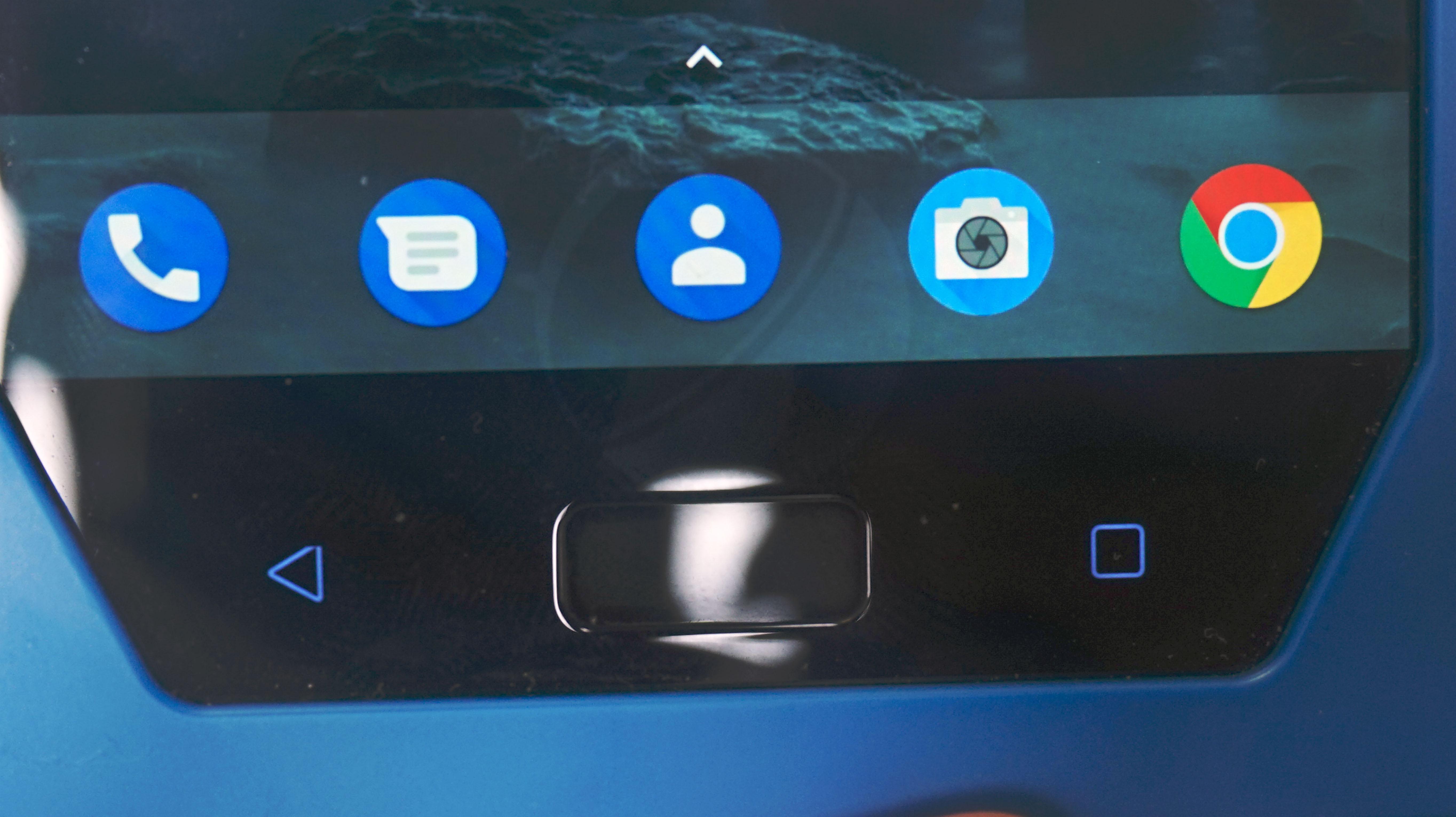 Capteur d empreintes digitales du Nokia 8