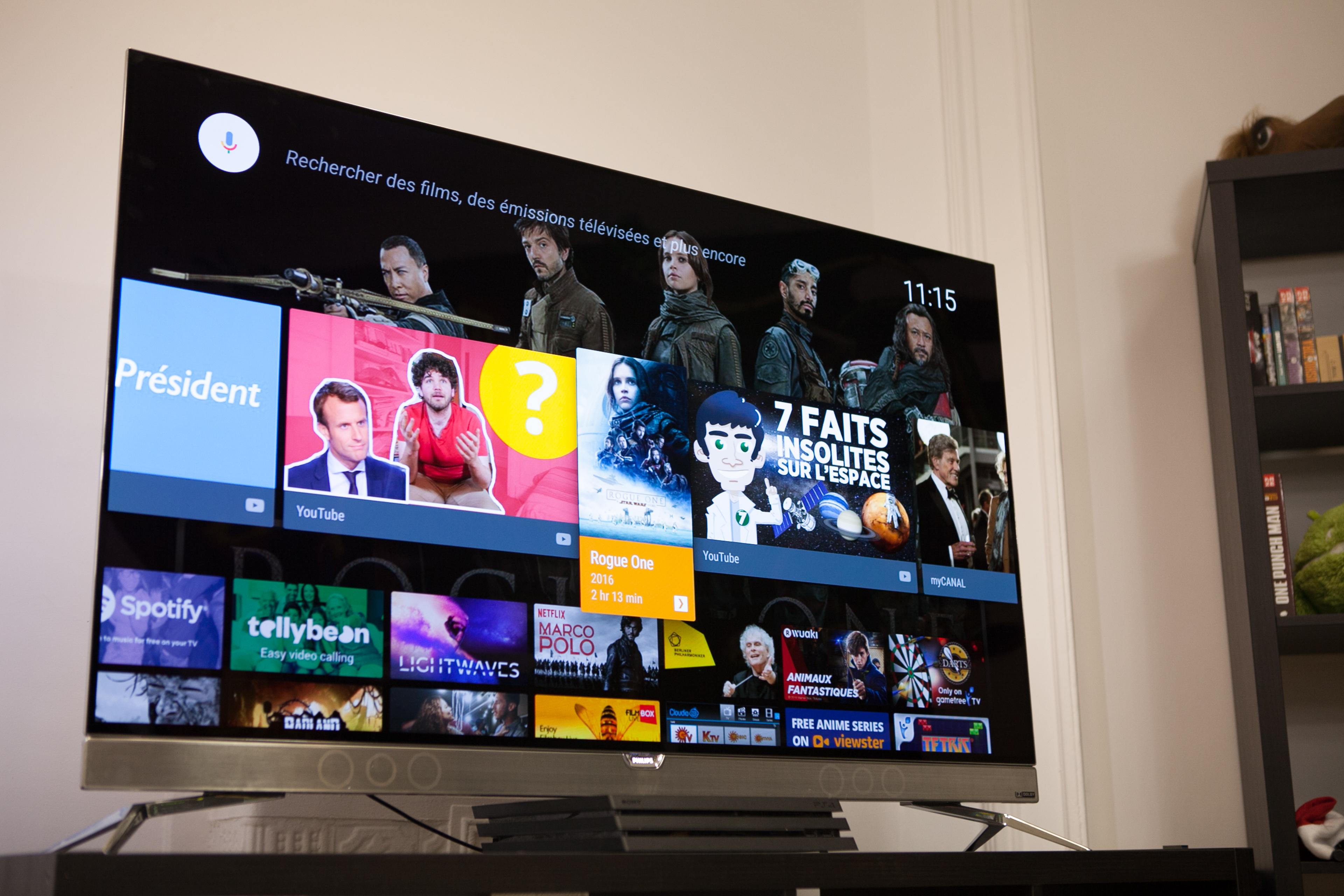 test du t l viseur oled android tv philips 55pos901f sublime mais ne l 39 achetez pas frandroid. Black Bedroom Furniture Sets. Home Design Ideas