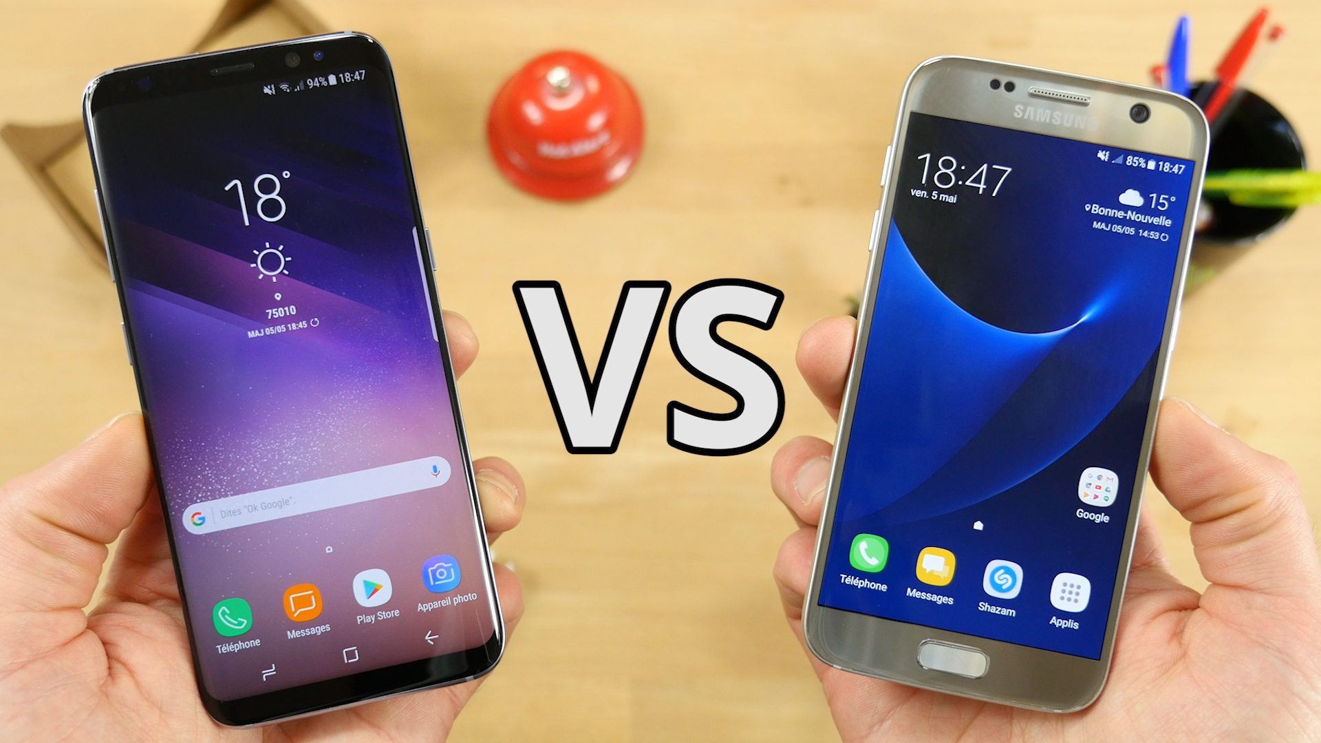 vid o samsung galaxy s7 vs galaxy s8 quelles diff rences frandroid. Black Bedroom Furniture Sets. Home Design Ideas
