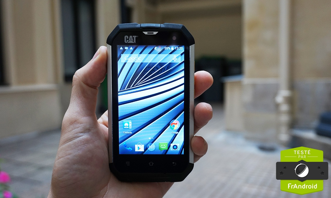 Test Cat B15q Notre Avis Complet Smartphones Frandroid