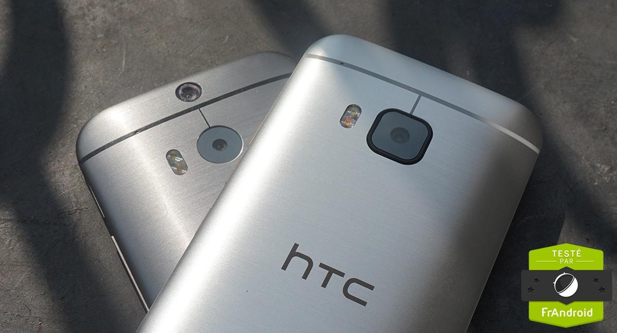 716d8712206033 HTC One M8 vs One M9   performances, photo et autonomie passées au ...