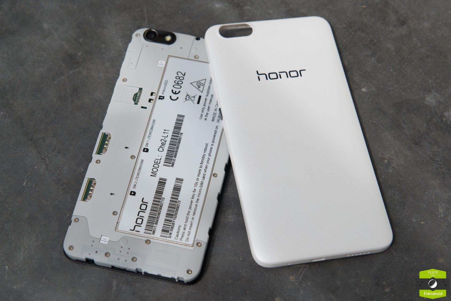 Test Honor 4X : notre avis complet - Smartphones - FrAndroid