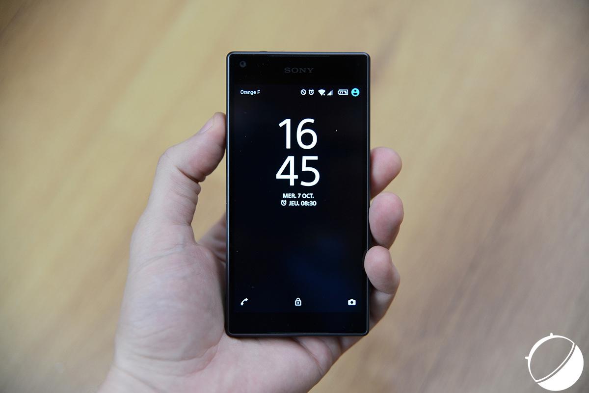 test sony xperia z5 compact notre avis complet smartphones frandroid. Black Bedroom Furniture Sets. Home Design Ideas