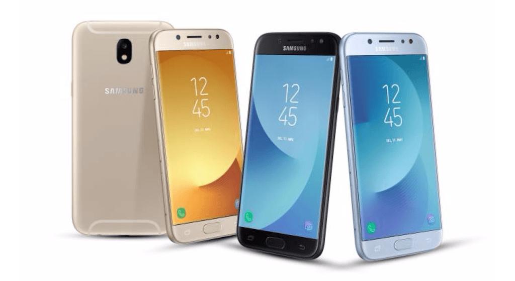 Samsung Galaxy J3, J5 Et J7 (2017) Annoncés