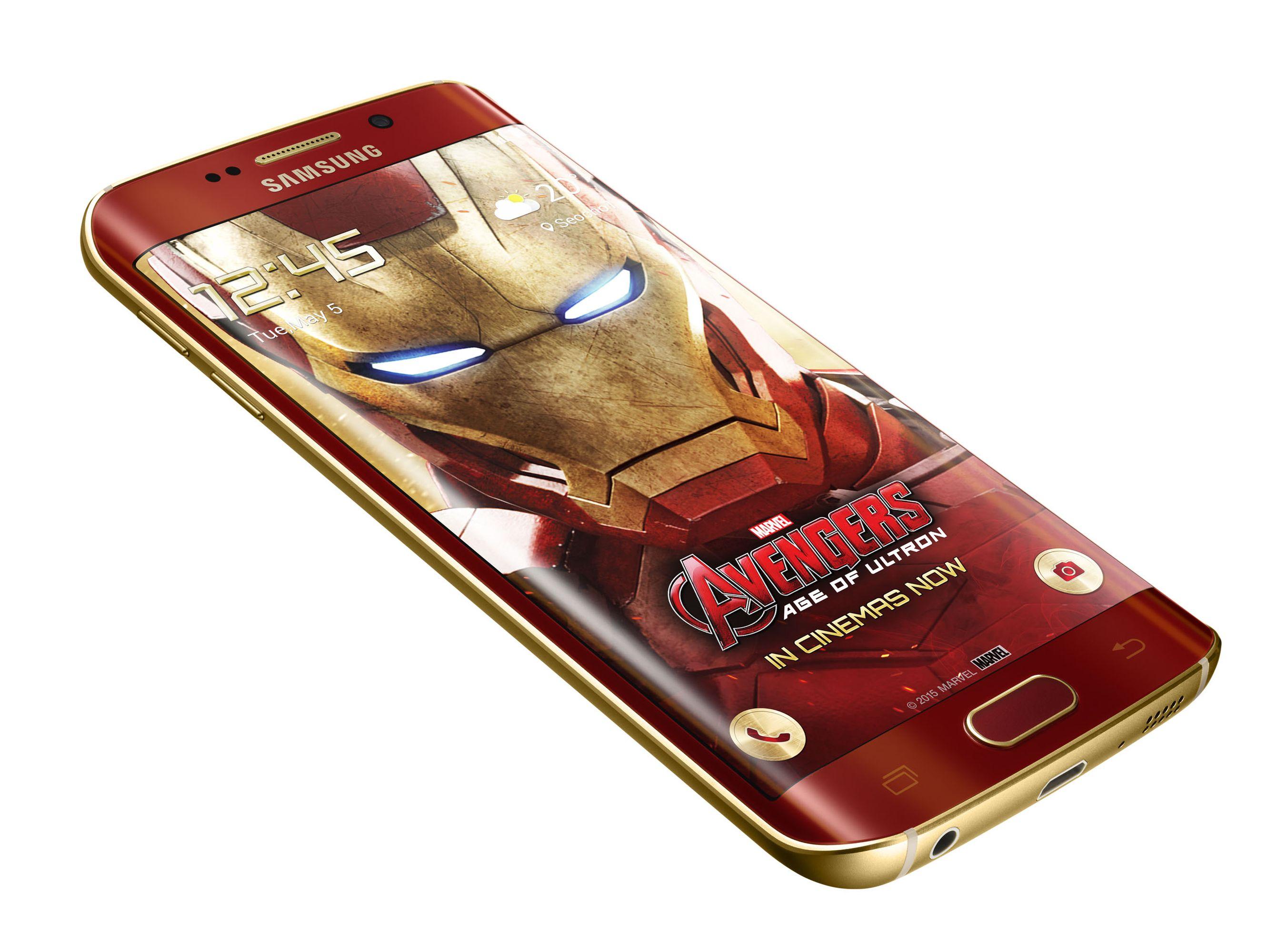 Samsung dévoile le Galaxy S6 edge aux couleurs d'Iron Man
