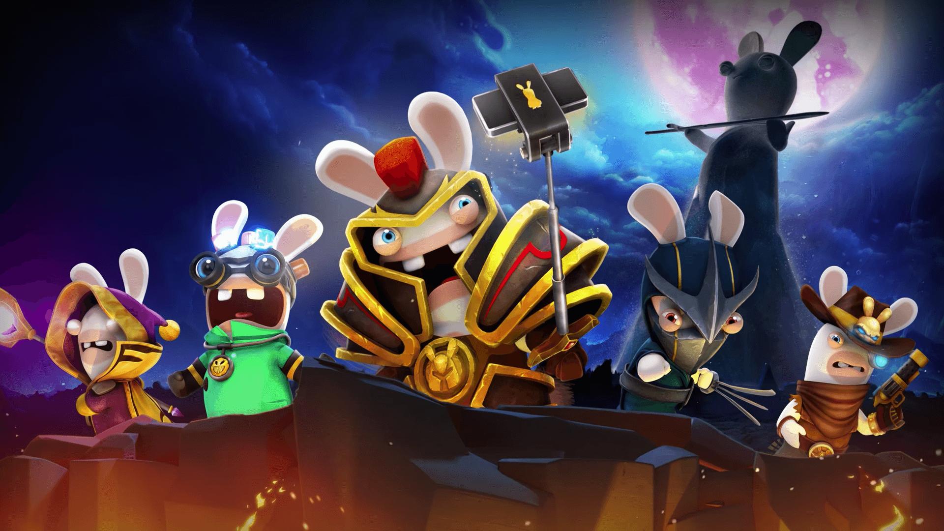 The lapins cr tins heroes ubisoft annonce son jeu de cartes la hearthstone frandroid - Jeux lapin cretain gratuit ...