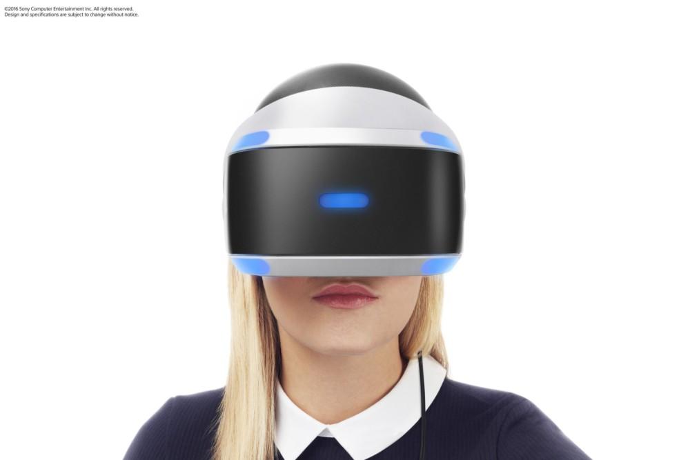 Le PlayStation VR actuel.