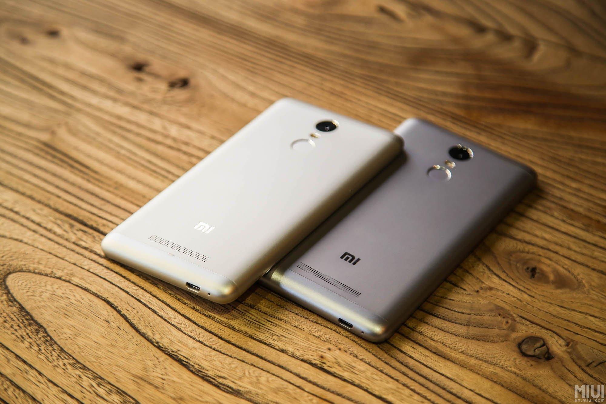 Xiaomi Redmi Note 3 Le Premier Smartphone De La Marque Avec Un Pro 32 Grey