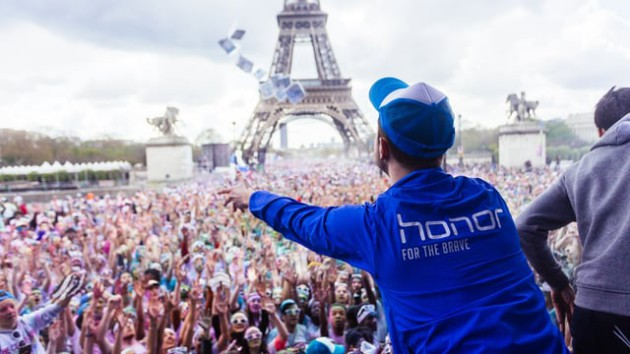 The Color Run de Paris, en 2016.