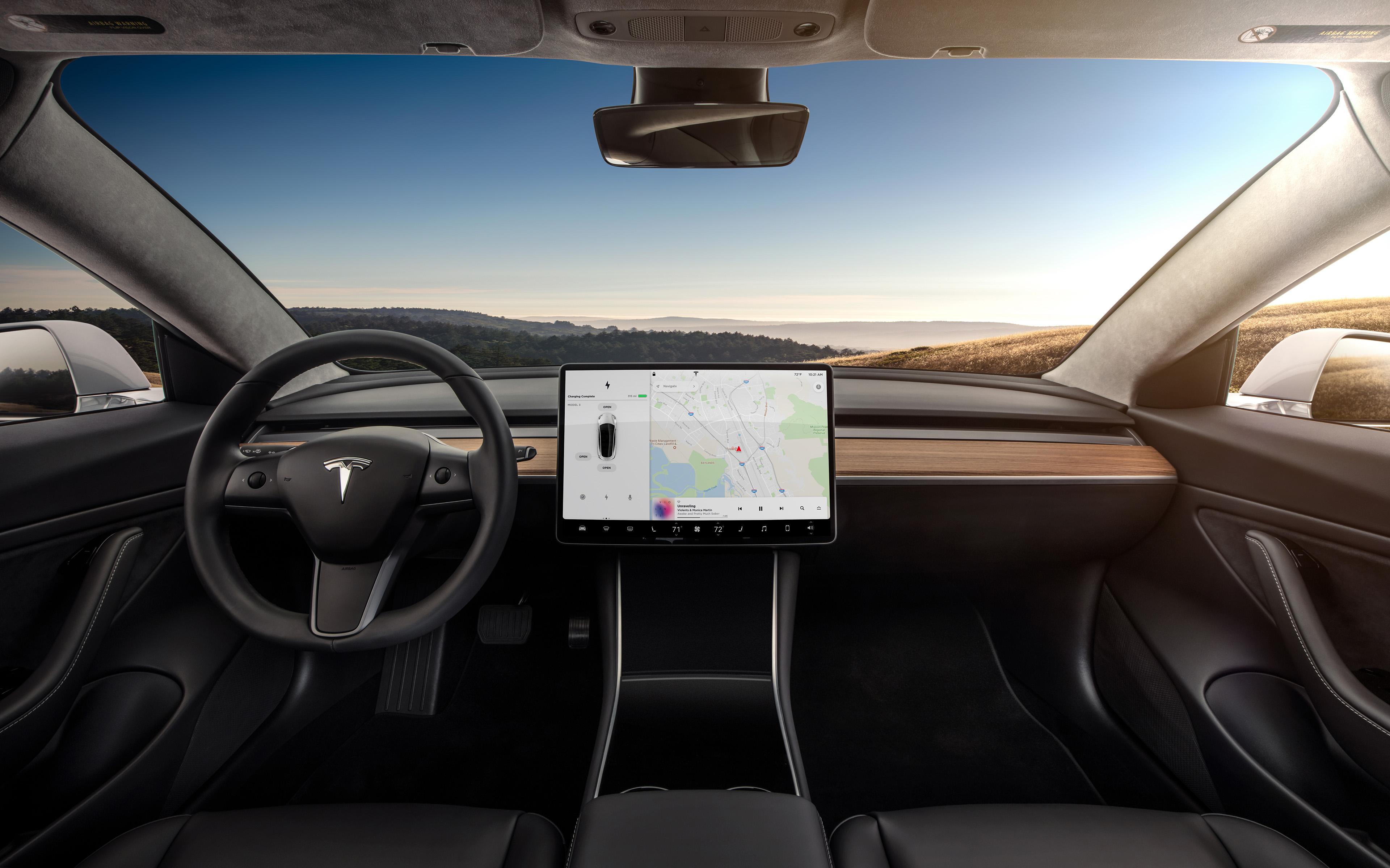 Tesla Model 3 : la voiture se débarrasse du cuir et devient vegan