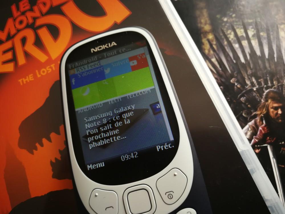 Nokia 3310 Un Mod 232 Le 4g Pr 233 Vu Pour 2018 Frandroid
