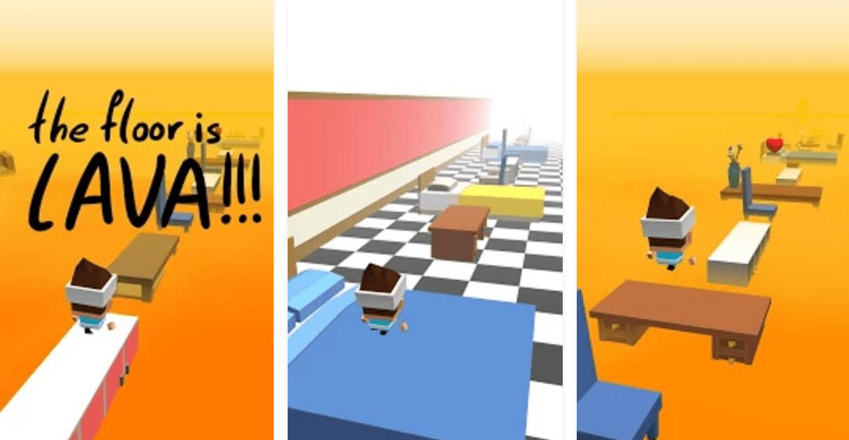 Les meilleurs jeux android gratuits et payants du mois de for Lava parquet