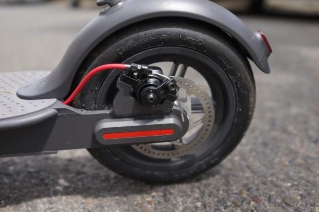 Freins à disque et roue gonflable
