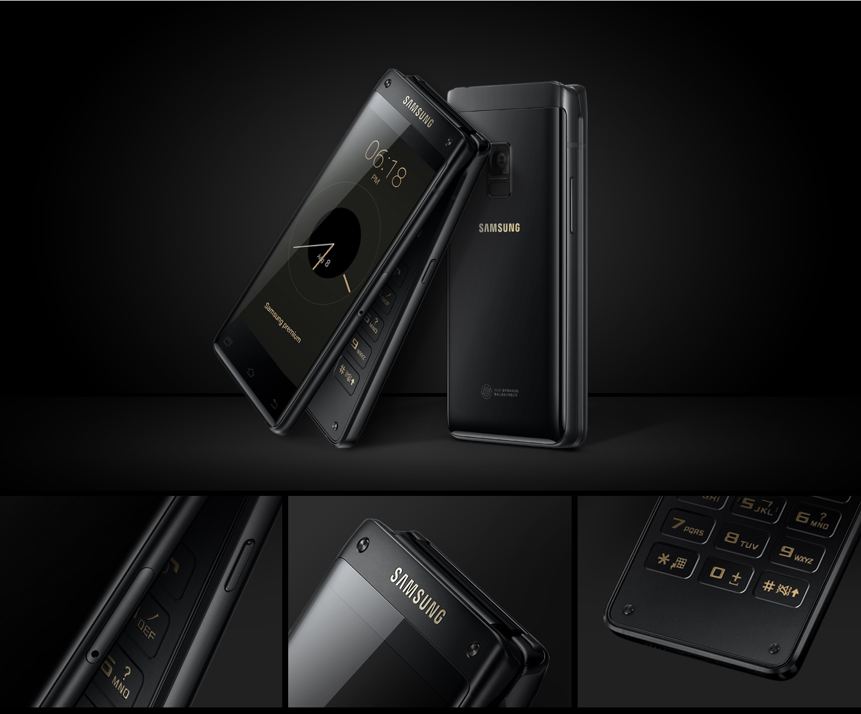 samsung officialise le leader 8 un smartphone clapet. Black Bedroom Furniture Sets. Home Design Ideas