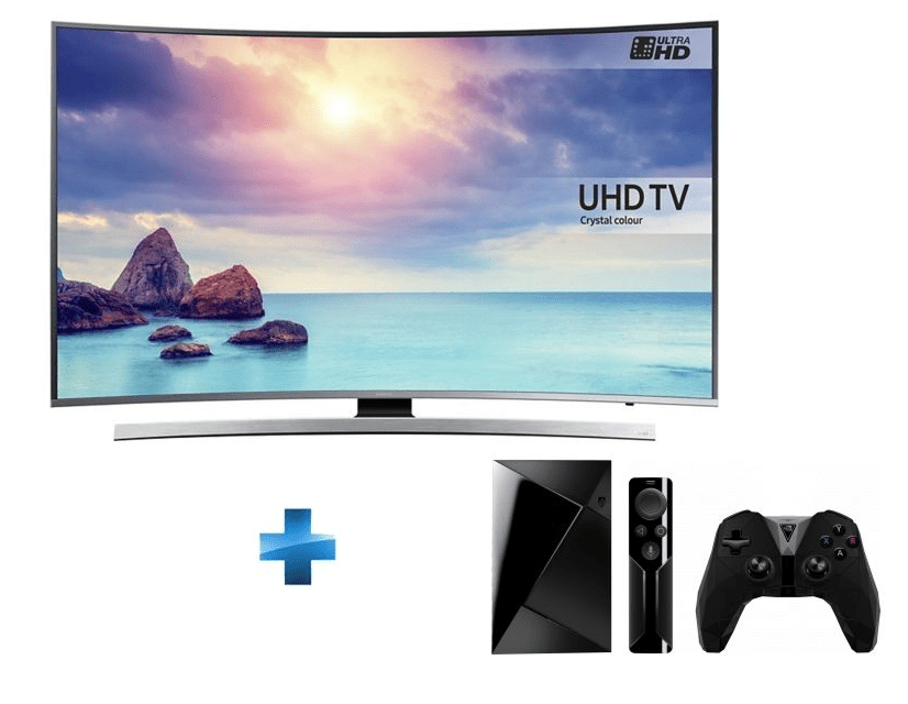 bon plan une tv samsung 55 pouces hdr 4k la nvidia shield tv 899 euros chez rue du. Black Bedroom Furniture Sets. Home Design Ideas