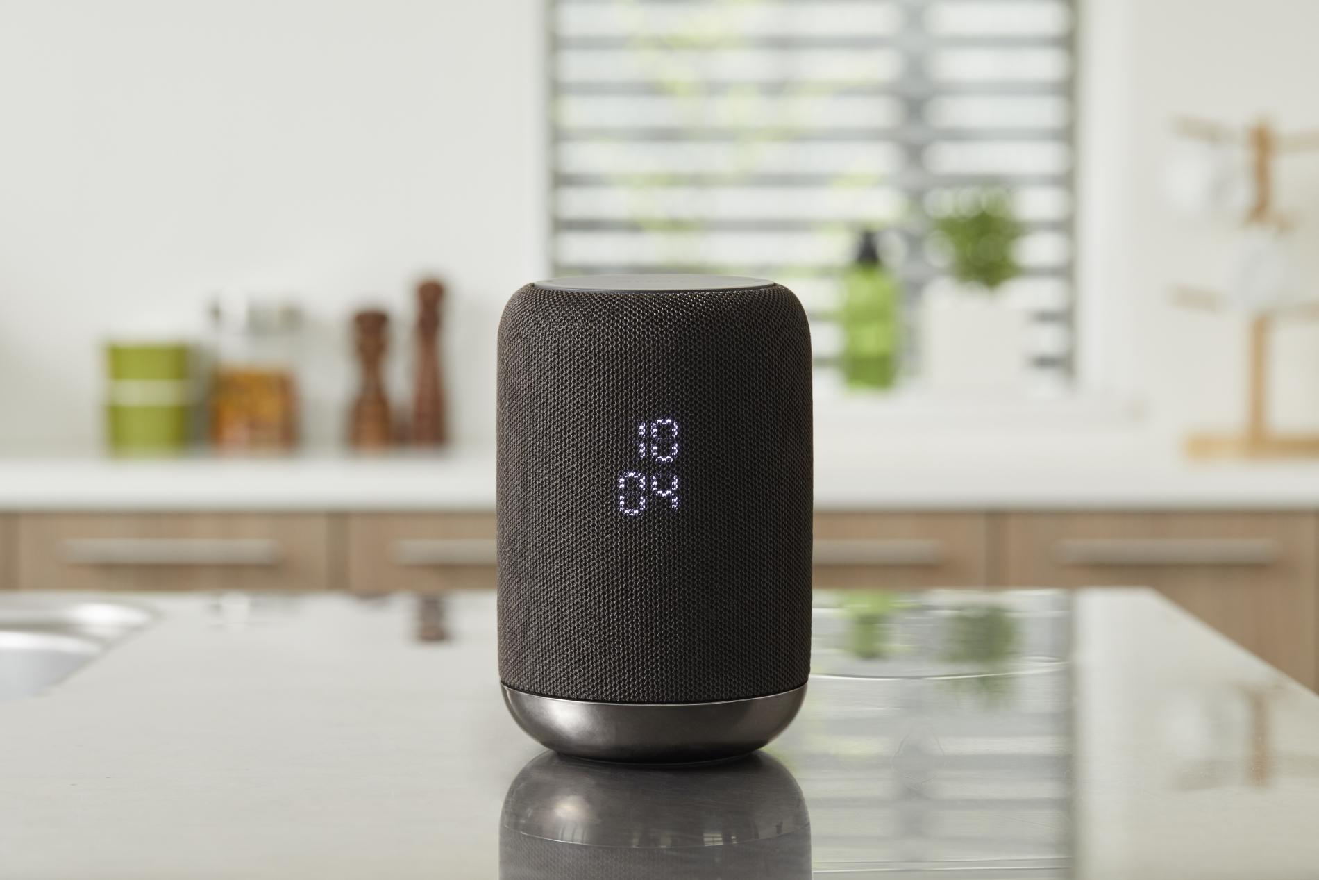 sony enceinte sans fil avec assistant google int gr un. Black Bedroom Furniture Sets. Home Design Ideas