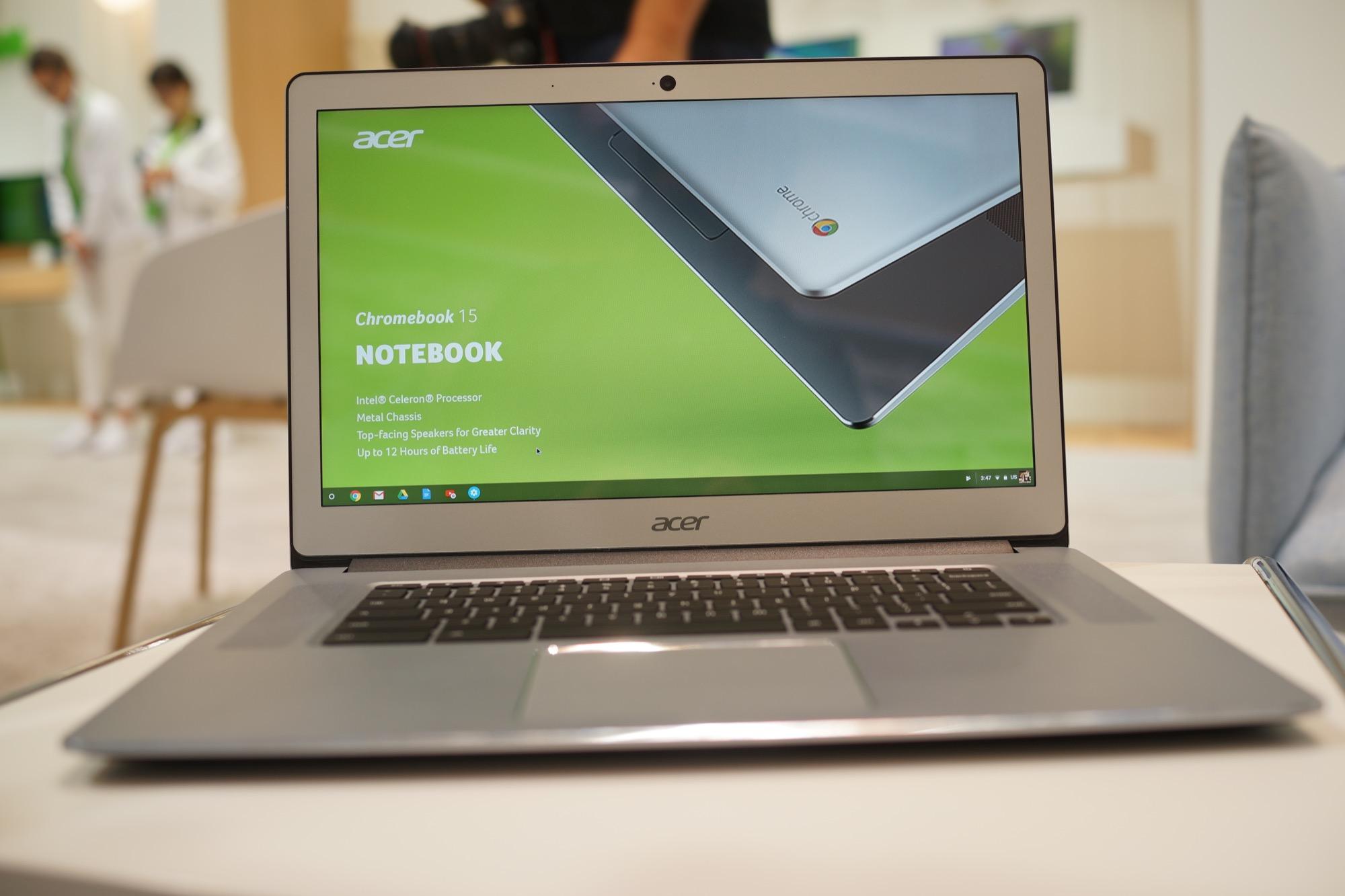 b7759d43c1e89e Le marché des Chromebooks est calme en Europe, nous avons dernièrement pu  tester le modèle de Samsung… qui n est pas disponible en France.