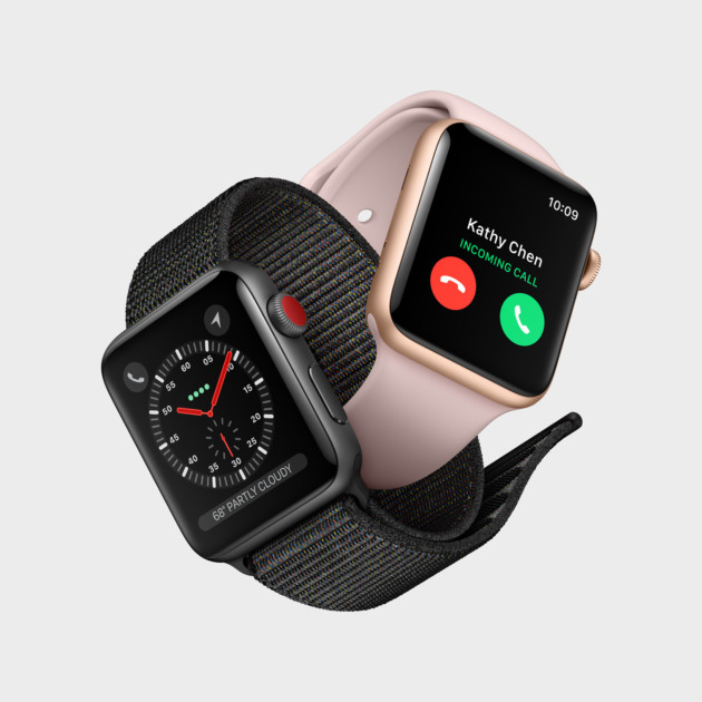 Apple Watch Series 3 suisses