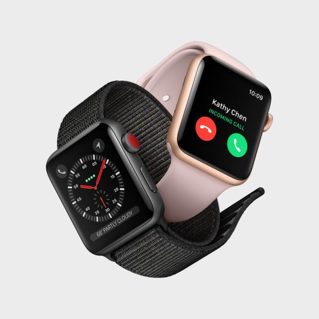 Apple Watch Series 3 suisses