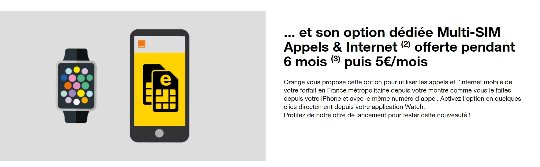 orange d taille les conditions pour avoir la 4g sur son apple watch series 3 frandroid. Black Bedroom Furniture Sets. Home Design Ideas