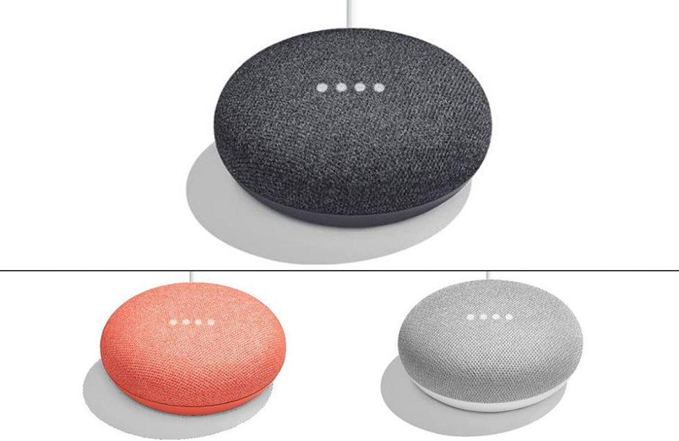 google home mini une enceinte domestique mignonne et bien moins ch re en fuite frandroid. Black Bedroom Furniture Sets. Home Design Ideas