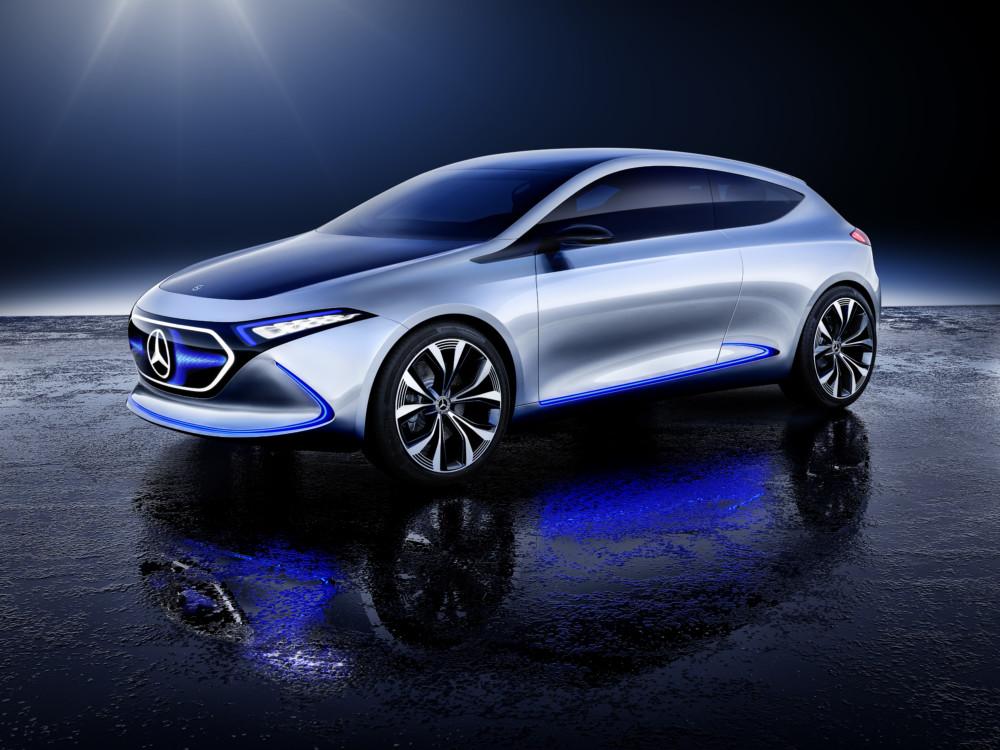 Le concept-car Mercedes EQA.
