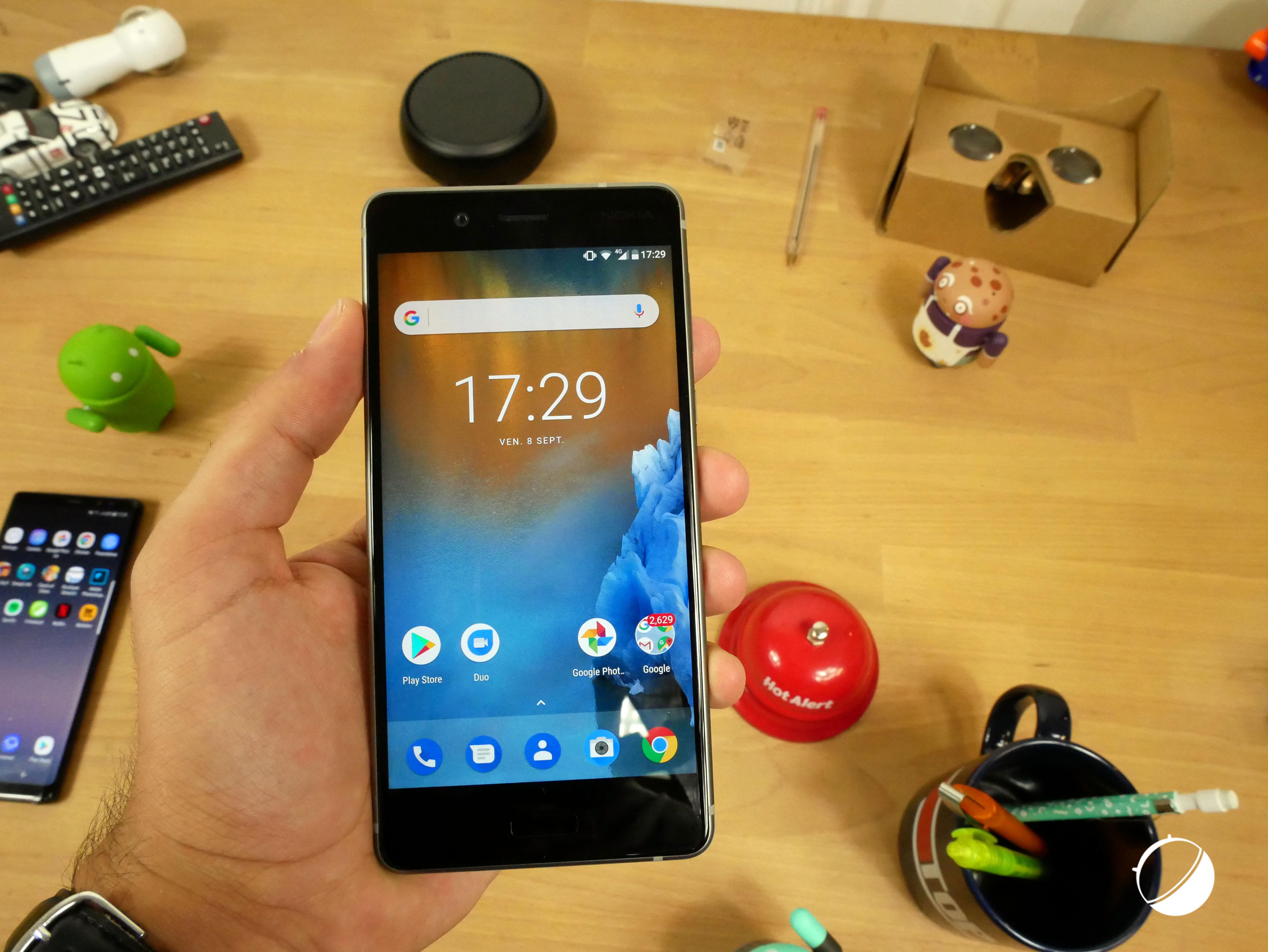 Le Nokia 8 est le premier haut de gamme d HMD que nous avons pu tester à sa  sortie. Sa force réside dans l intégration d Android sans interface  propriétaire ... 0e8c68510990