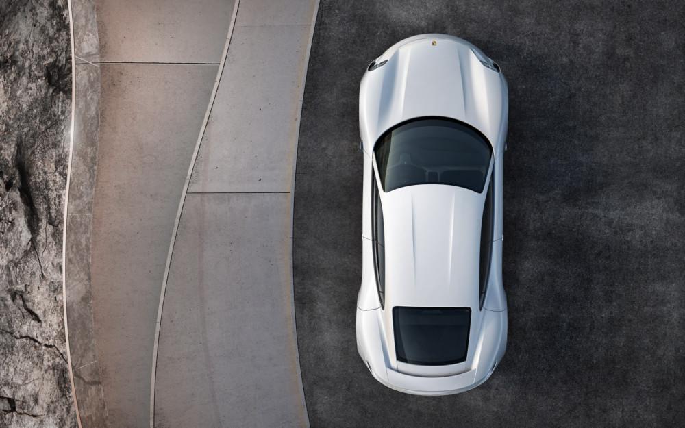 La Porsche Mission E