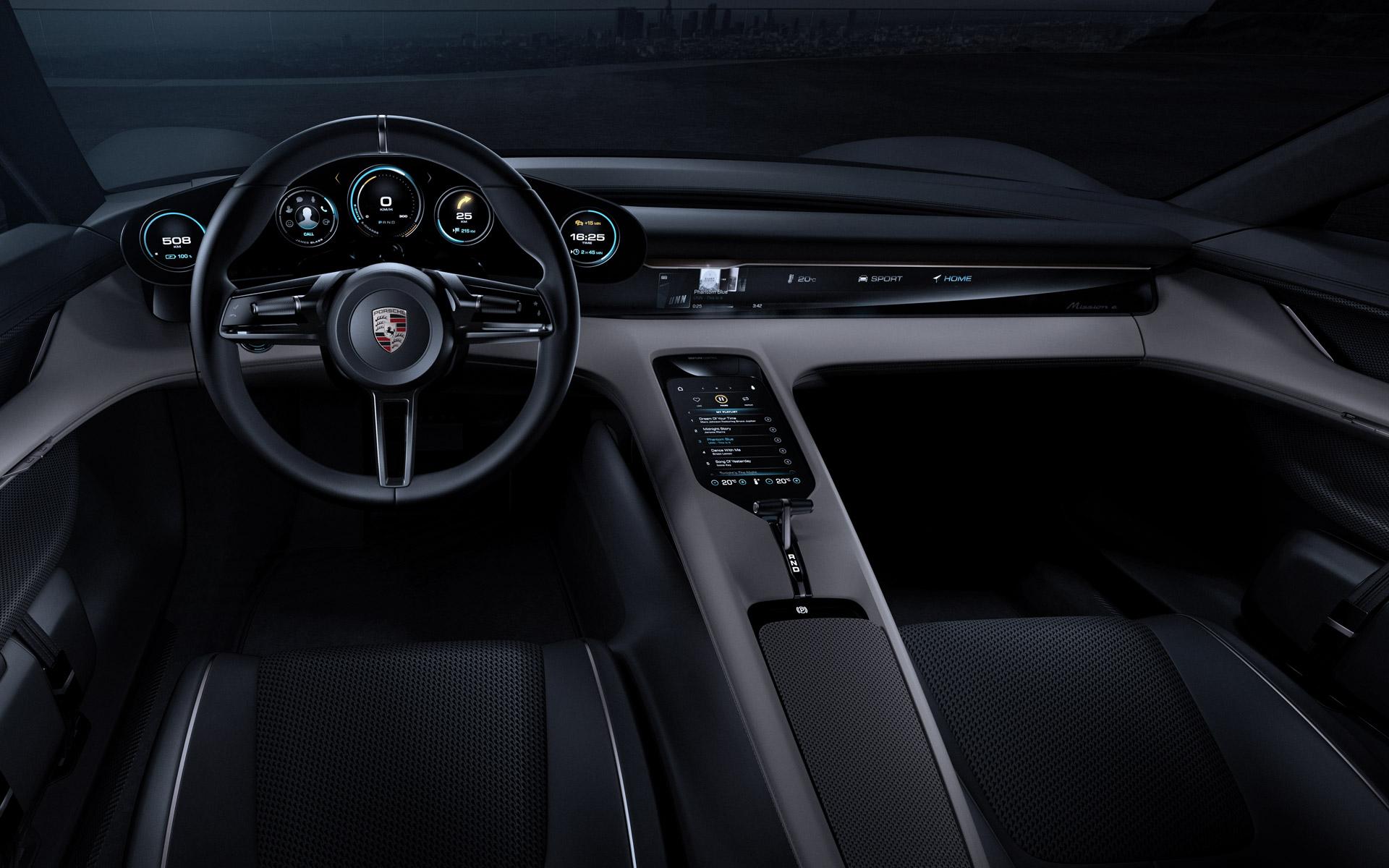 Porsche Mission E La Concurrente De La Tesla Model S A