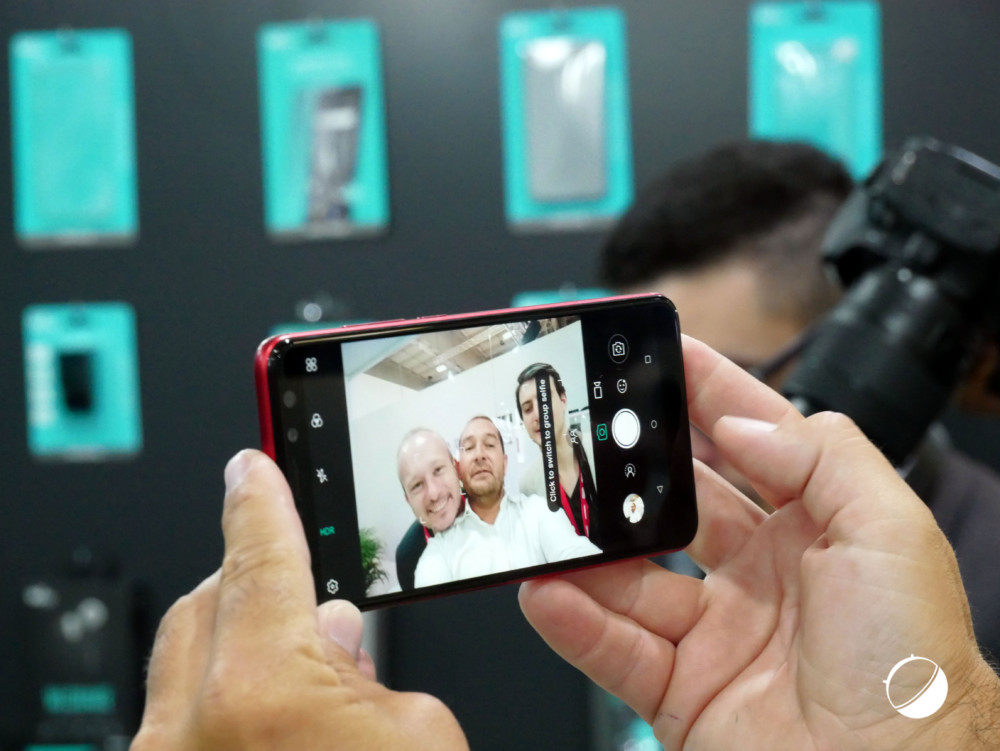 Un selfie normal avec le Wiko View Prime