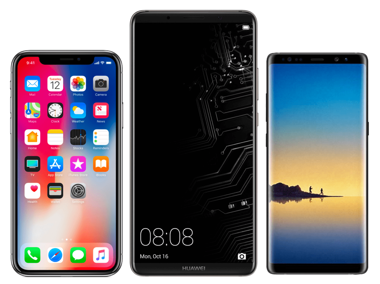 huawei mate 10 pro est il cr dible face l 39 iphone x et au galaxy note 8 frandroid. Black Bedroom Furniture Sets. Home Design Ideas