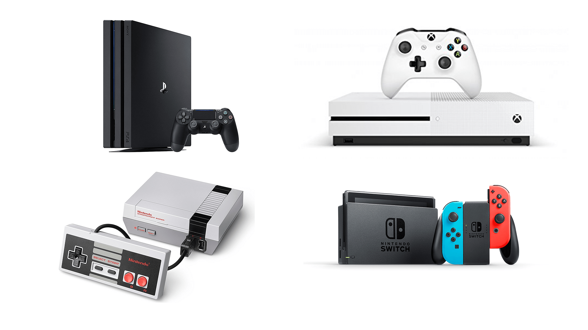 Quelle console de jeu choisir en 2018 ? La sélection de la rédaction on