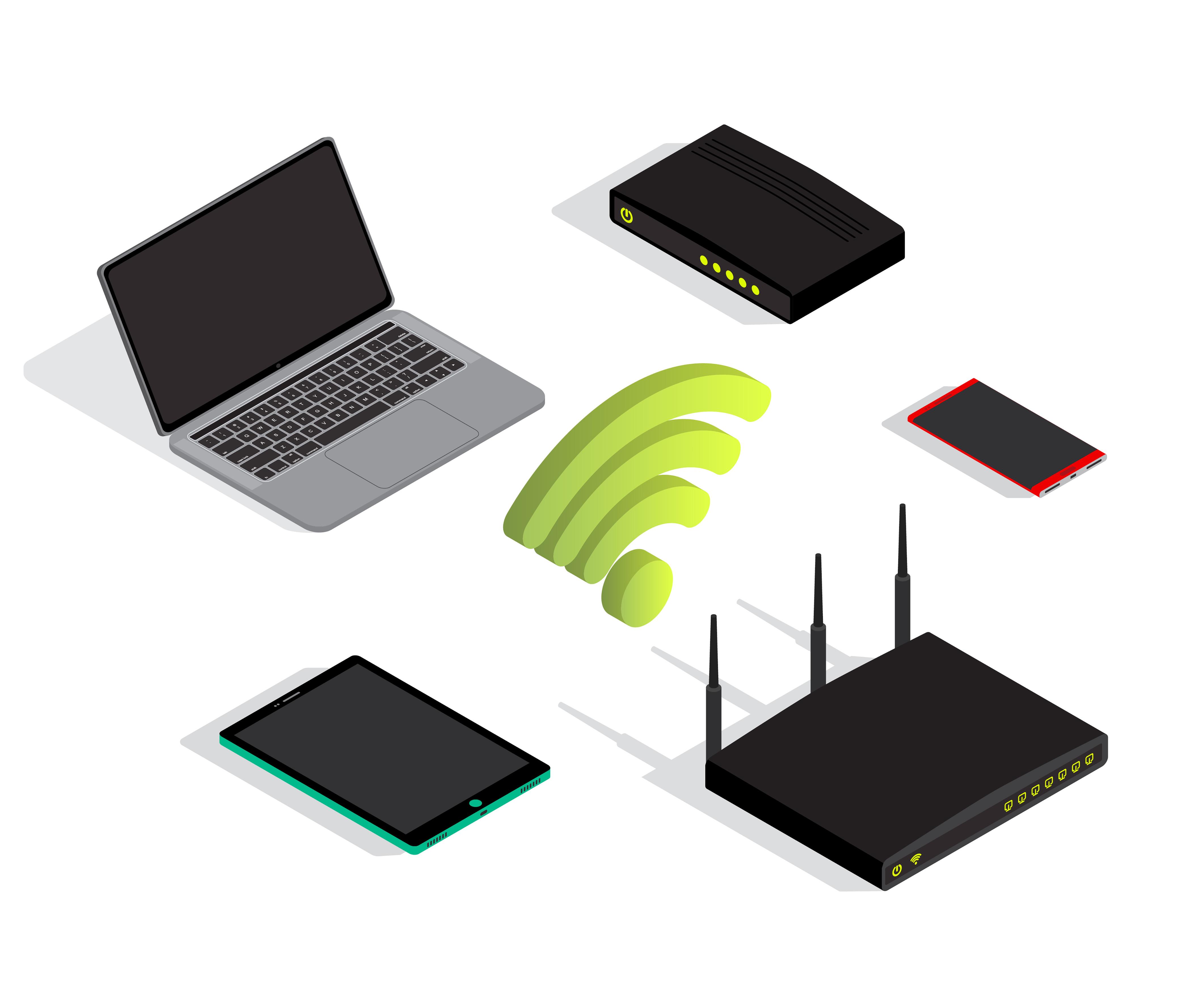 Un réseau Wi-Fi