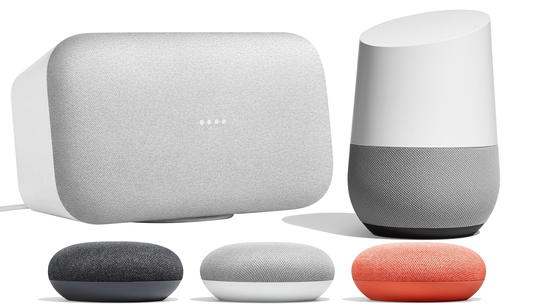 google home vs home mini vs home max quelles diff rences lequel choisir frandroid. Black Bedroom Furniture Sets. Home Design Ideas