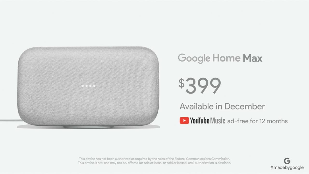 Google Home Mini disponible en pré-commande à 59 — Fnac