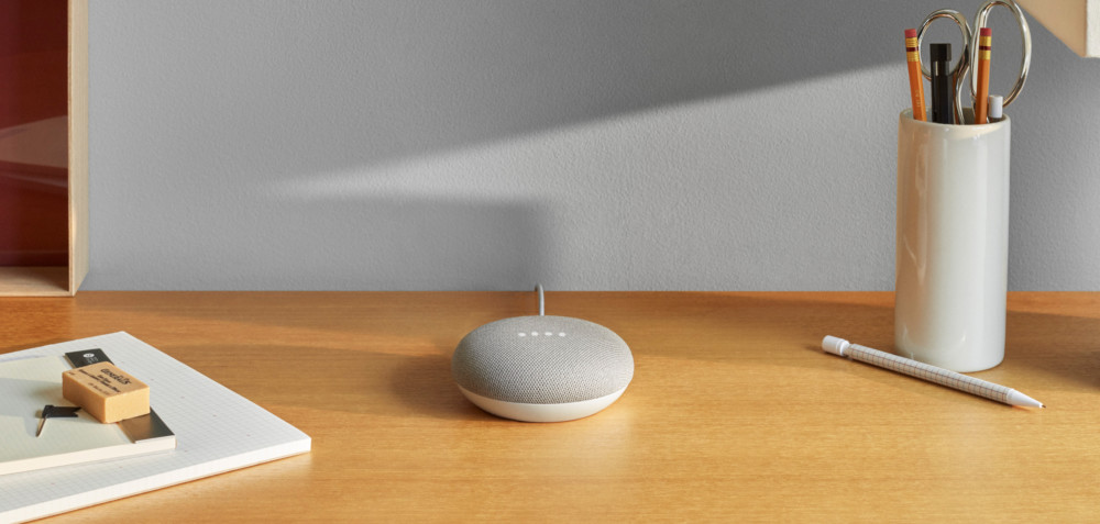 Le Google Home Mini