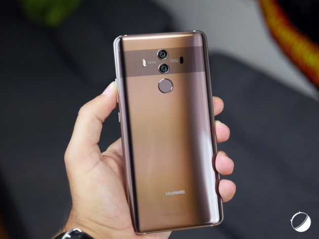 Le Huawei Mate 10 Pro en illustration