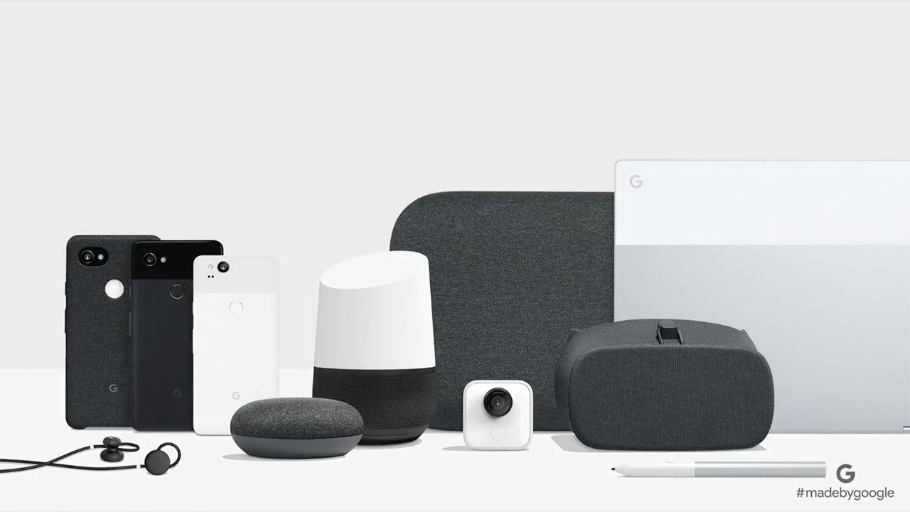 made by google les produits disponibles en france ou en import tous les prix frandroid. Black Bedroom Furniture Sets. Home Design Ideas