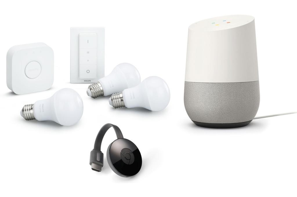 bon plan plusieurs packs complets google home avec. Black Bedroom Furniture Sets. Home Design Ideas