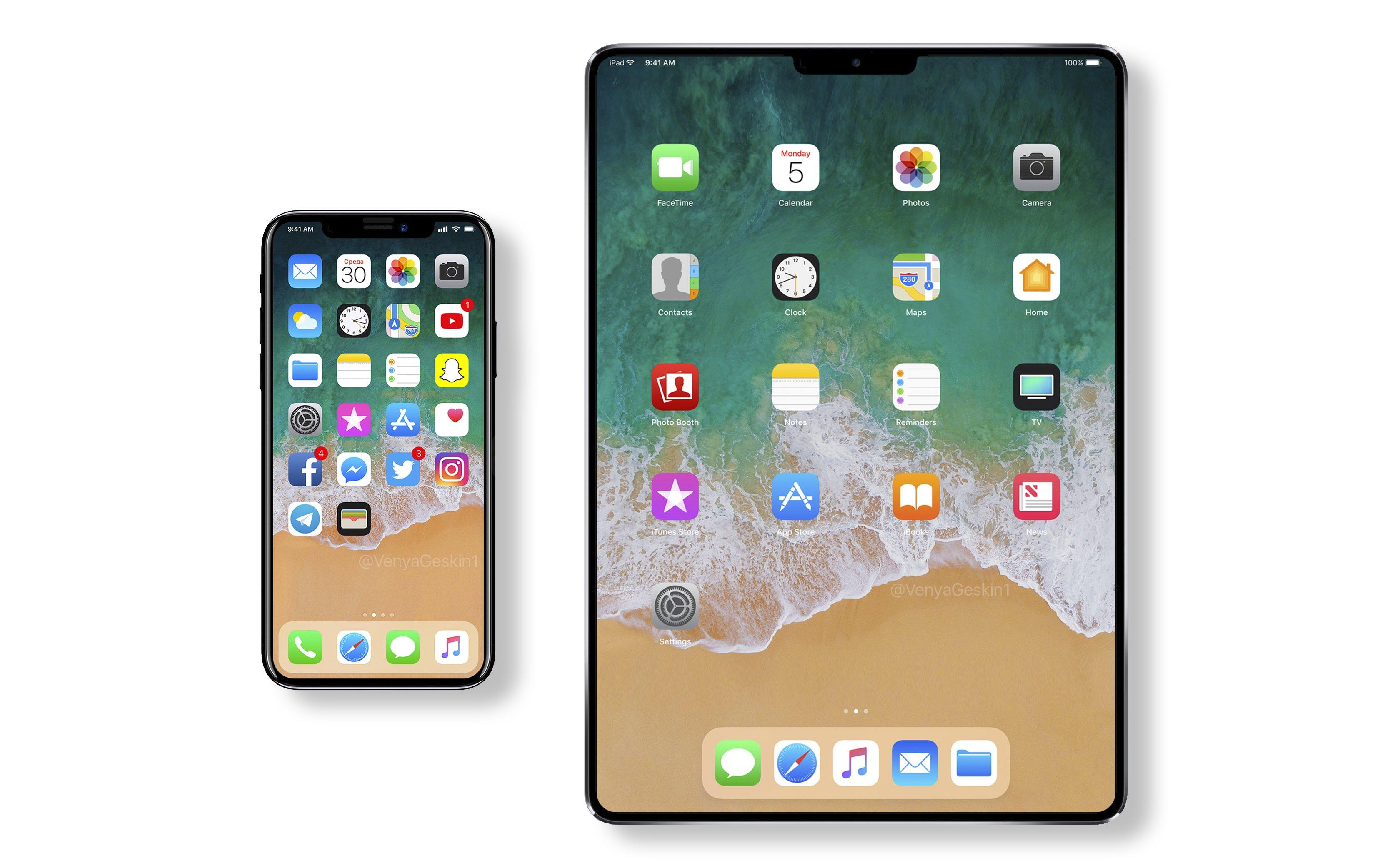 apple ipad x face id et cran sans bords d s 2018. Black Bedroom Furniture Sets. Home Design Ideas