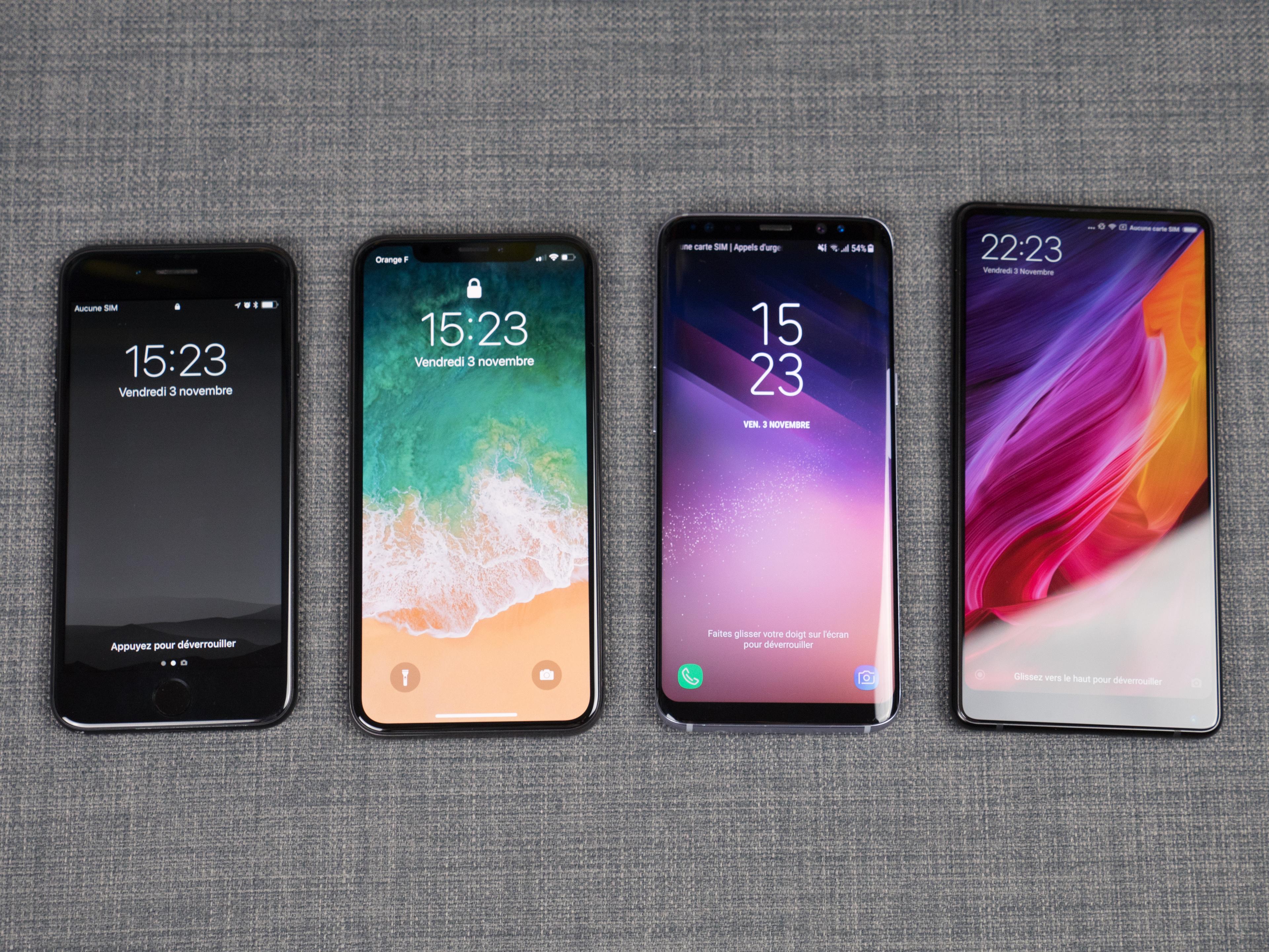 Iphone  Plus Et Iphone X